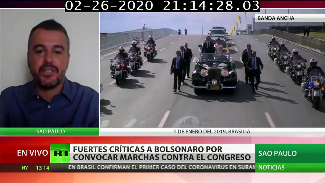 """Sociólogo: """"Para contener un golpe de Estado, la izquierda brasileña tendrá que aliarse con el centro y la centroderecha"""""""