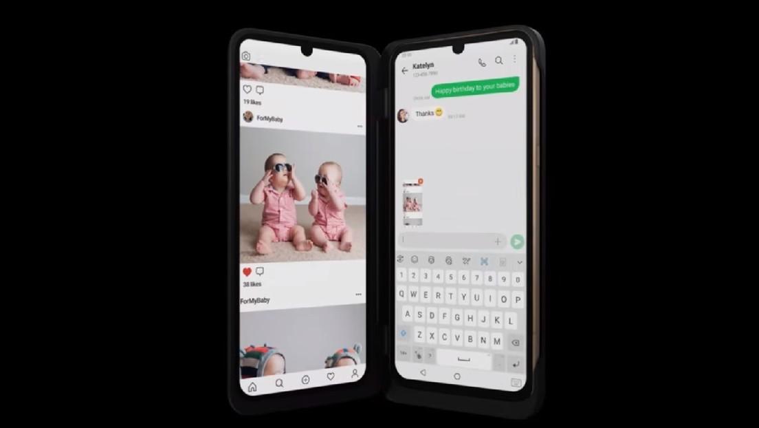 VIDEO: LG presenta su nuevo 'smartphone' con dos pantallas, 5G y sonido de alta fidelidad