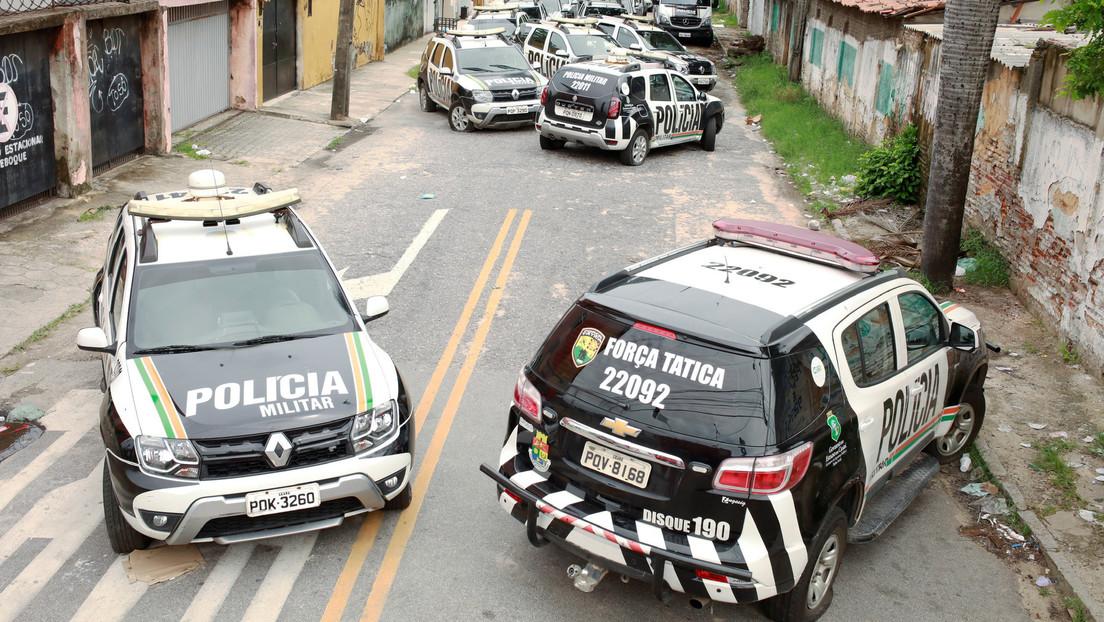Autoridades del estado brasileño de Ceará buscan diálogo con policías en huelga, tras registrarse 170 homicidios