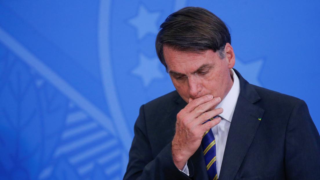 Bolsonaro protagoniza una nueva polémica en Brasil por apoyar una marcha contra el Congreso y el Supremo Tribunal