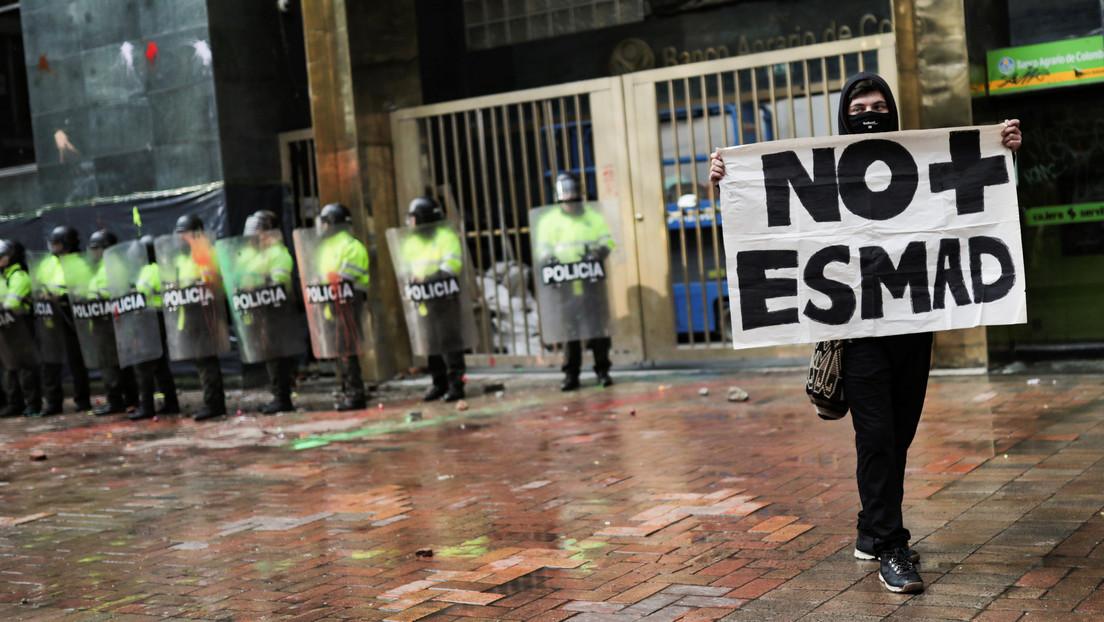 """ONU llama a Colombia """"una profunda transformación"""" de la policía antidisturbios por denuncias de actuación desproporcionada"""