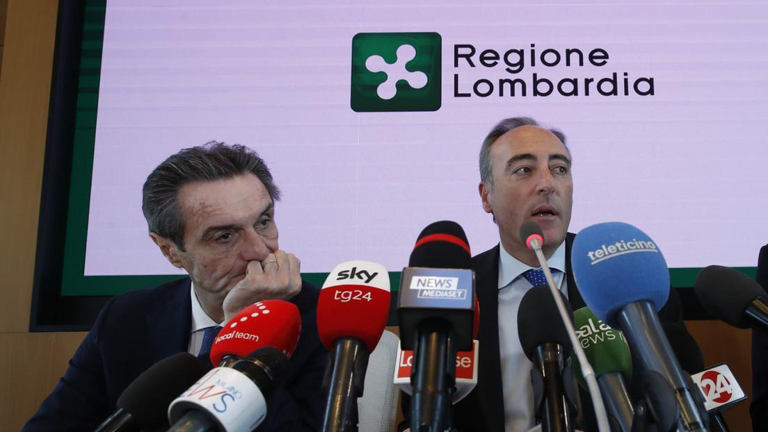 Italia: Presidente de la Lombardía se somete a cuarentena al confirmarse que una colaboradora contrajo el coronavirus