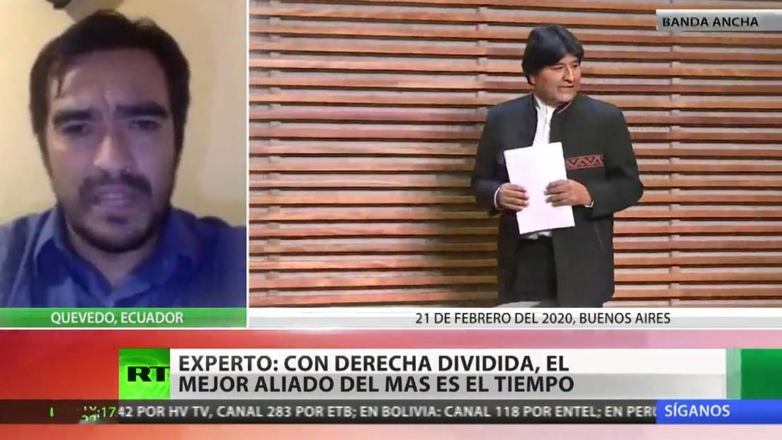 """Experto: """"Con la derecha dividida en Bolivia, la fortaleza electoral del MAS es el tiempo"""""""