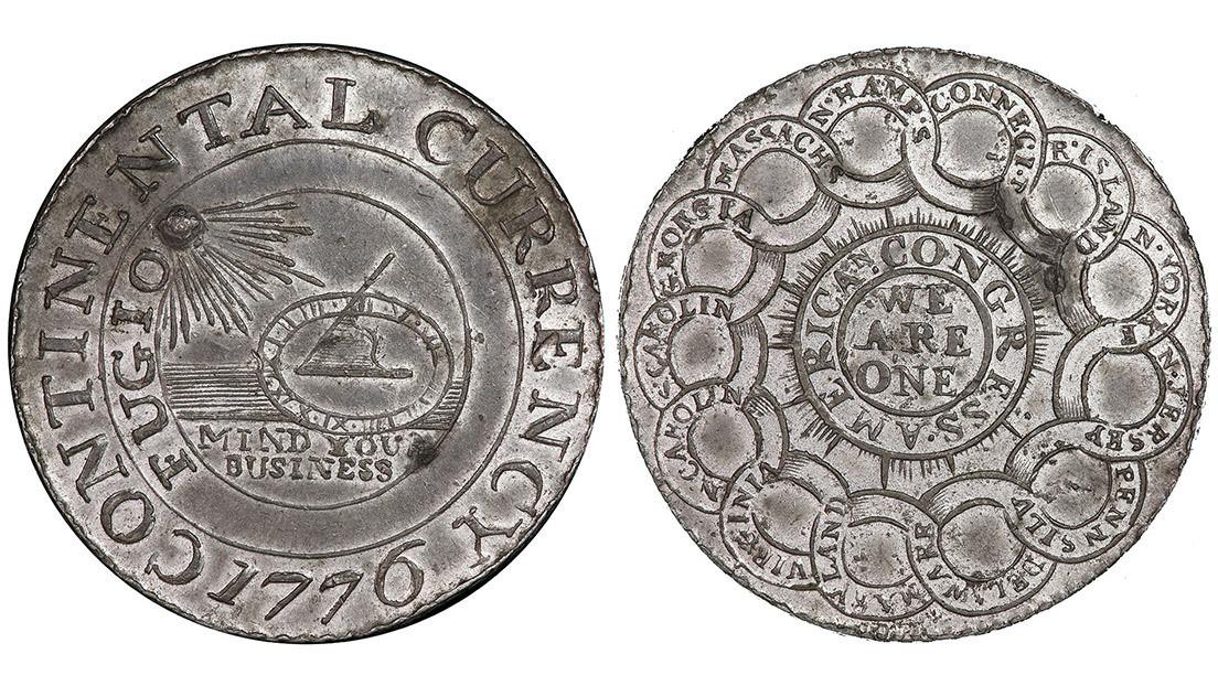 Compra una moneda del año 1776 por 56 centavos en un mercadillo que resulta valer casi 100.000 dólares