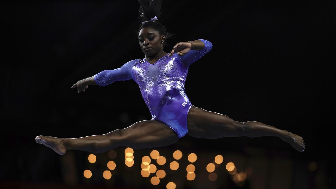 VIDEO: La gimnasta Simone Biles publica un nuevo adelanto de un salto que está preparando, nunca antes ejecutado por una mujer