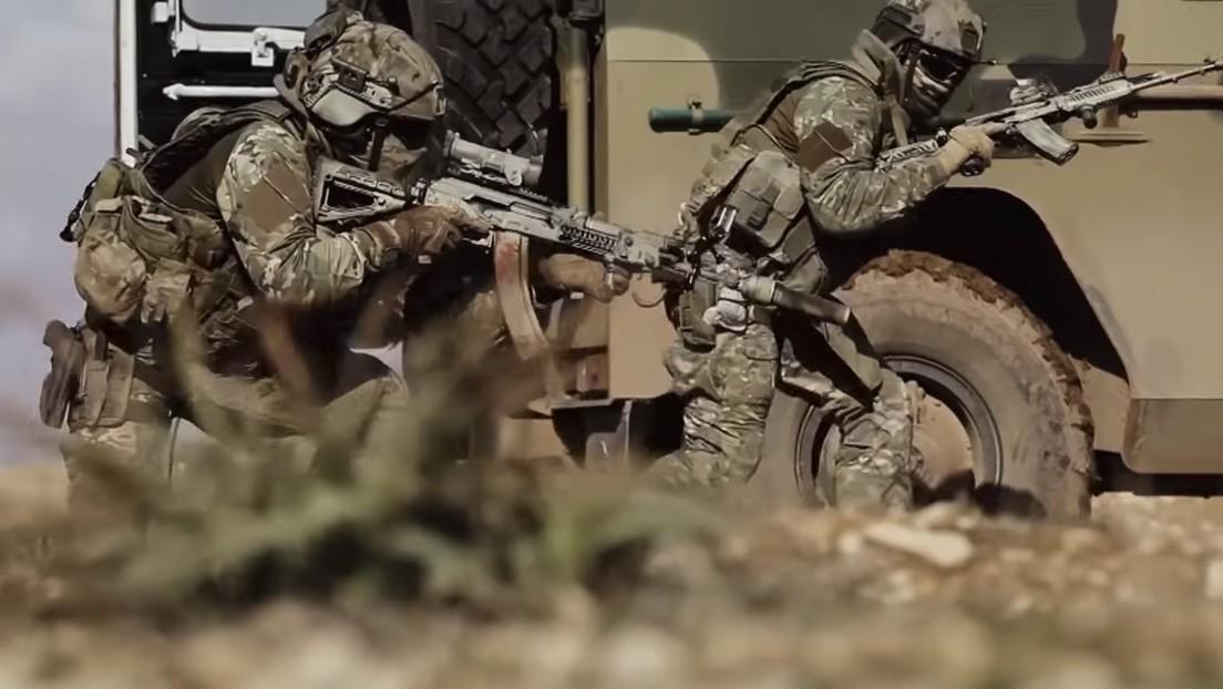 VIDEO: Las fuerzas de operaciones especiales rusas en acción en tierra, mar y aire vistas desde dentro