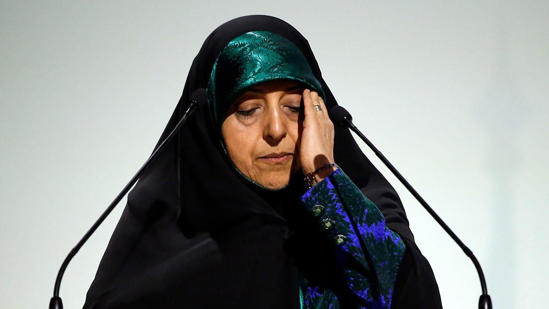 Una vicepresidenta de Irán está contagiada con el coronavirus