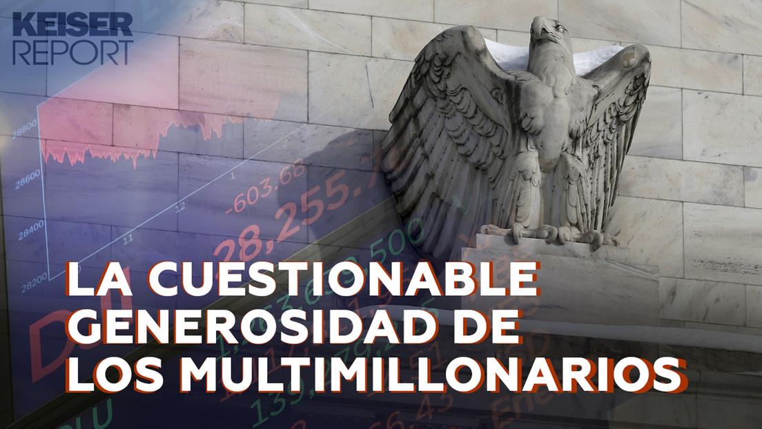 """""""Los banqueros centrales arrebataron el dinero de la gente y lo entregaron a los multimillonarios"""""""