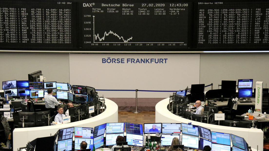 Las principales bolsas europeas cierran con caídas superiores al 3 %