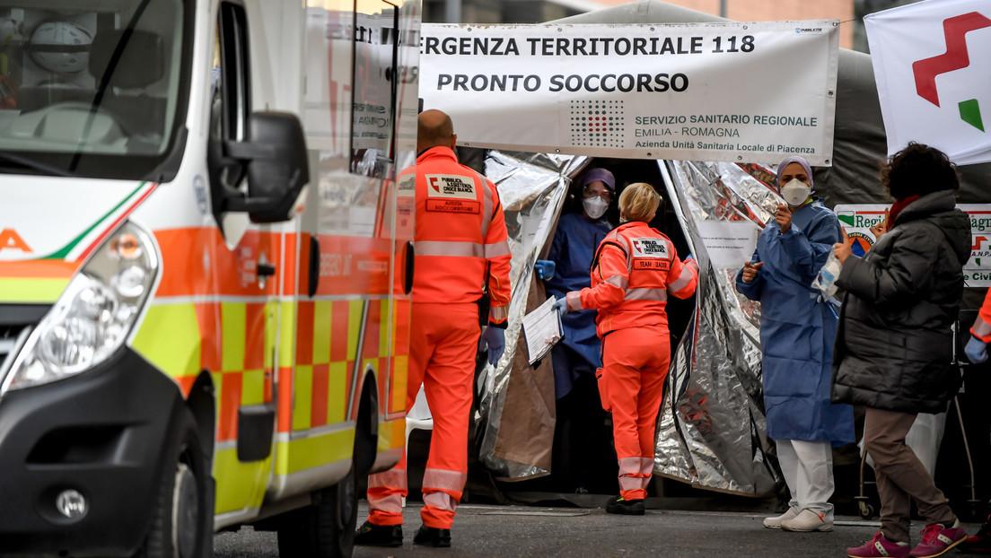 Asciende a 17 el número de muertes por el coronavirus en Italia, mientras hay 650 infectados