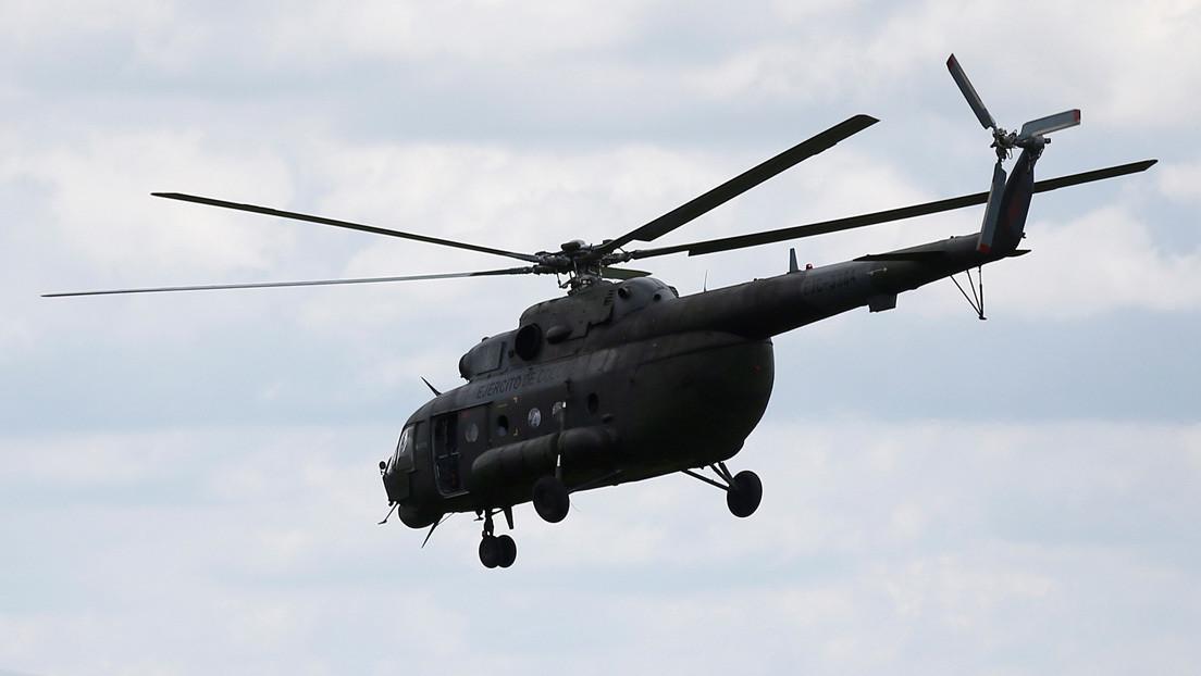 Accidente de un helicóptero de la Fuerza Aérea de Colombia deja tres muertos y dos heridos