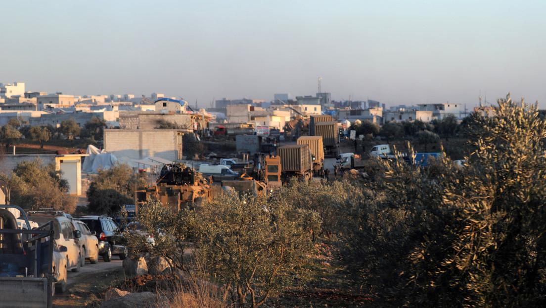 El Ejército sirio derriba un dron turco en Idlib