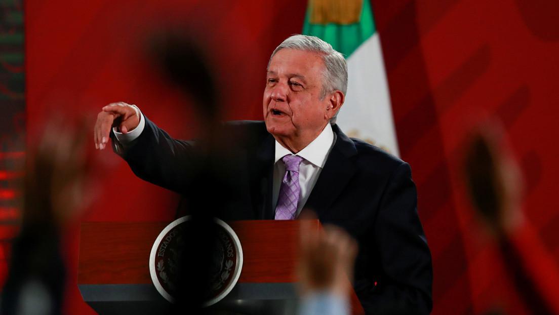 """López Obrador califica de """"inhumano"""" negar el desembarco de pasajeros del crucero MSC Meraviglia por sospechas de coronavirus"""