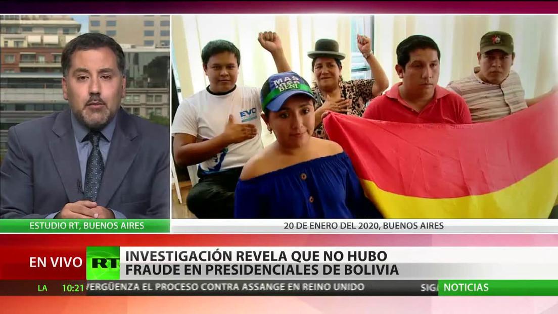 Investigación revela que no hubo fraude en las presidenciales de Bolivia