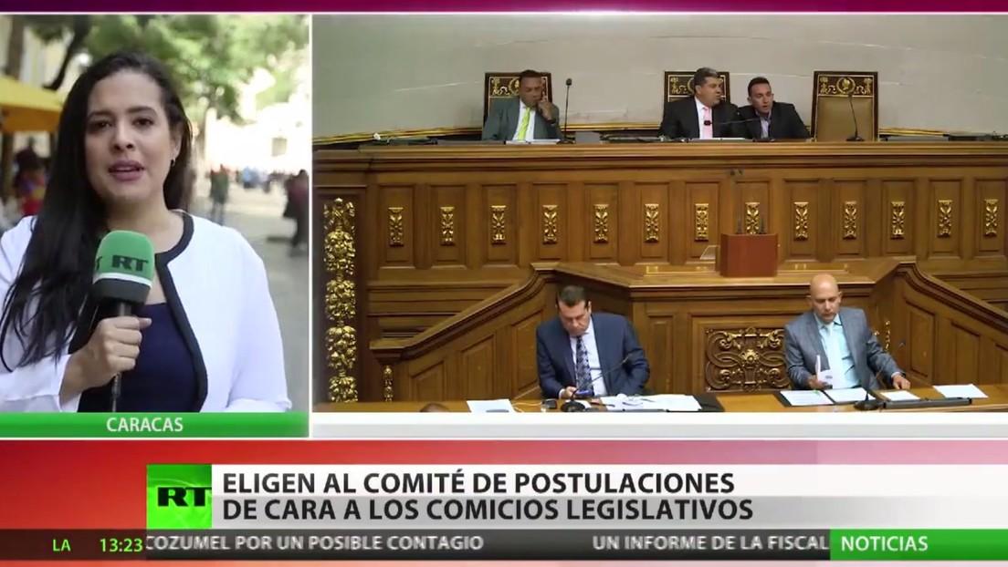 Eligen en Venezuela al comité de postulaciones para renovar el organismo electoral