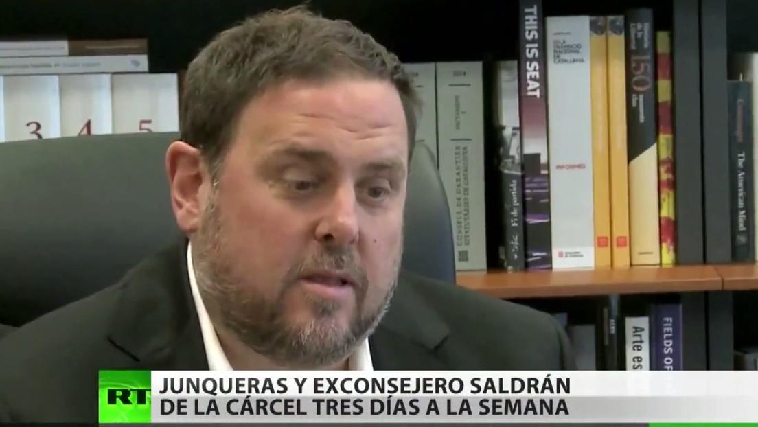 El exvicepresidente de Cataluña y un exconsejero saldrán de la cárcel tres días a la semana