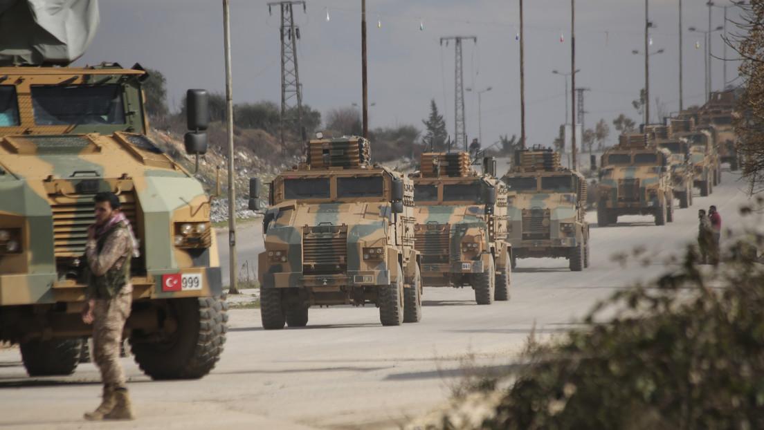 Publican imágenes de ataques previos de Ankara contra el Gobierno sirio en medio de crecientes tensiones entre ambos países (VIDEO)