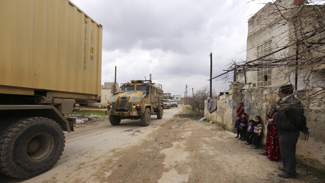 El Ministerio de Defensa de Turquía anuncia que sus Fuerzas Armadas impactaron más de 200 objetivos de Siria en Idlib