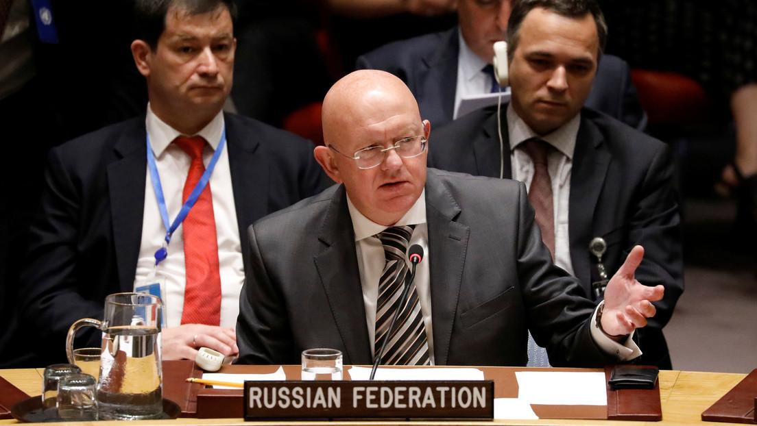 """Rusia ante la ONU: """"Siria tiene todo el derecho de responder a los ataques de terroristas en su territorio"""""""