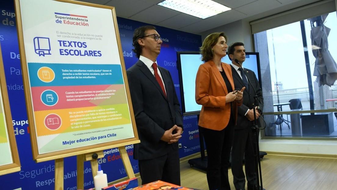 Renuncia la ministra de Educación de Chile, a días del inicio de las actividades escolares