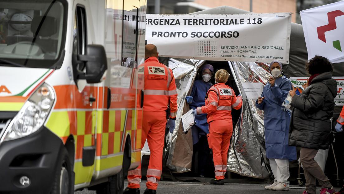 Asciende a 29 el número de muertes por coronavirus en Italia, mientras ya hay más de 1.000 infectados