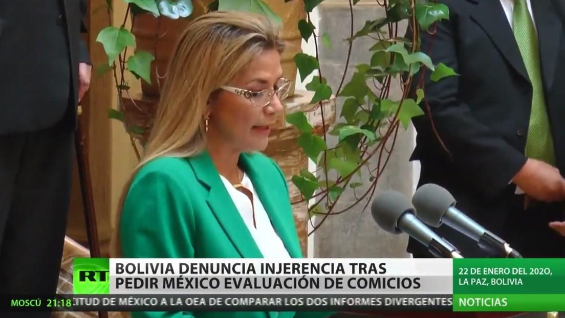 Bolivia denuncia la injerencia de México por pedir evaluación de la auditoría de la OEA de los pasados comicios