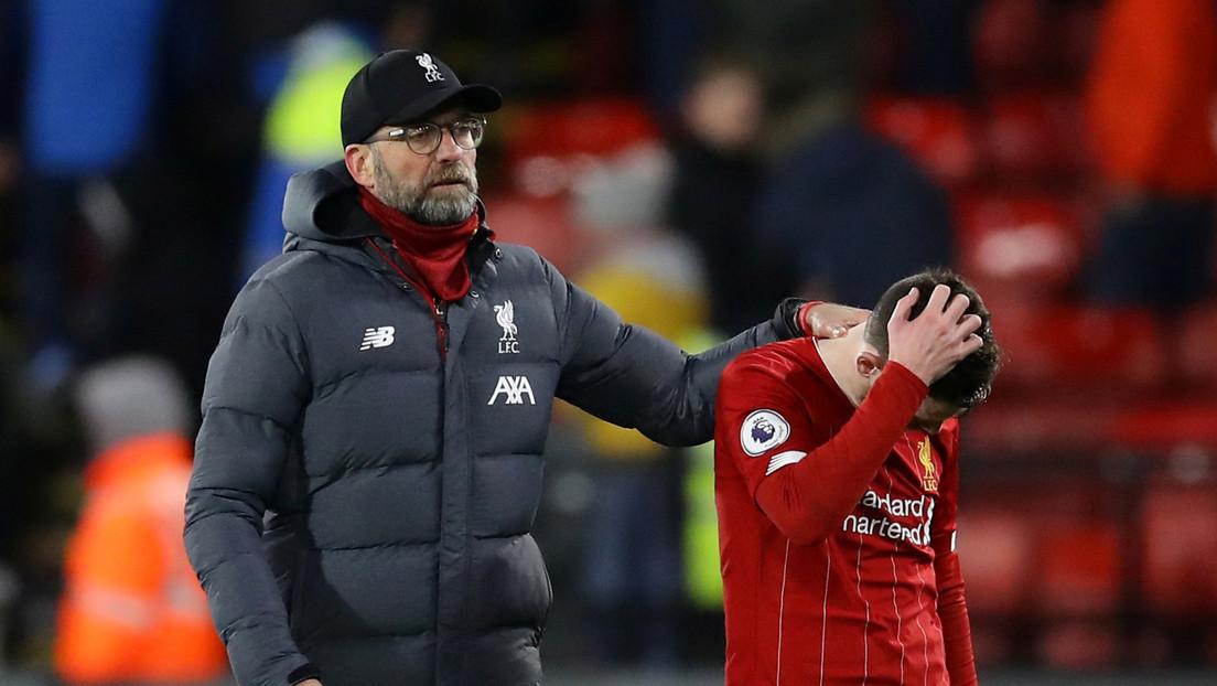 El Liverpool es aplastado 3 a 0 por el Watford y pierde su invicto de 13 meses en la Premier League