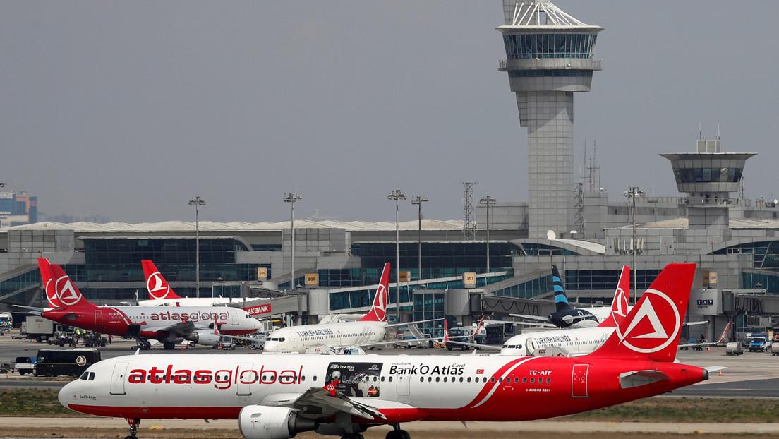 Turquía cancela los vuelos de pasajeros hacia y desde Italia, Irak y Corea del Sur por el coronavirus