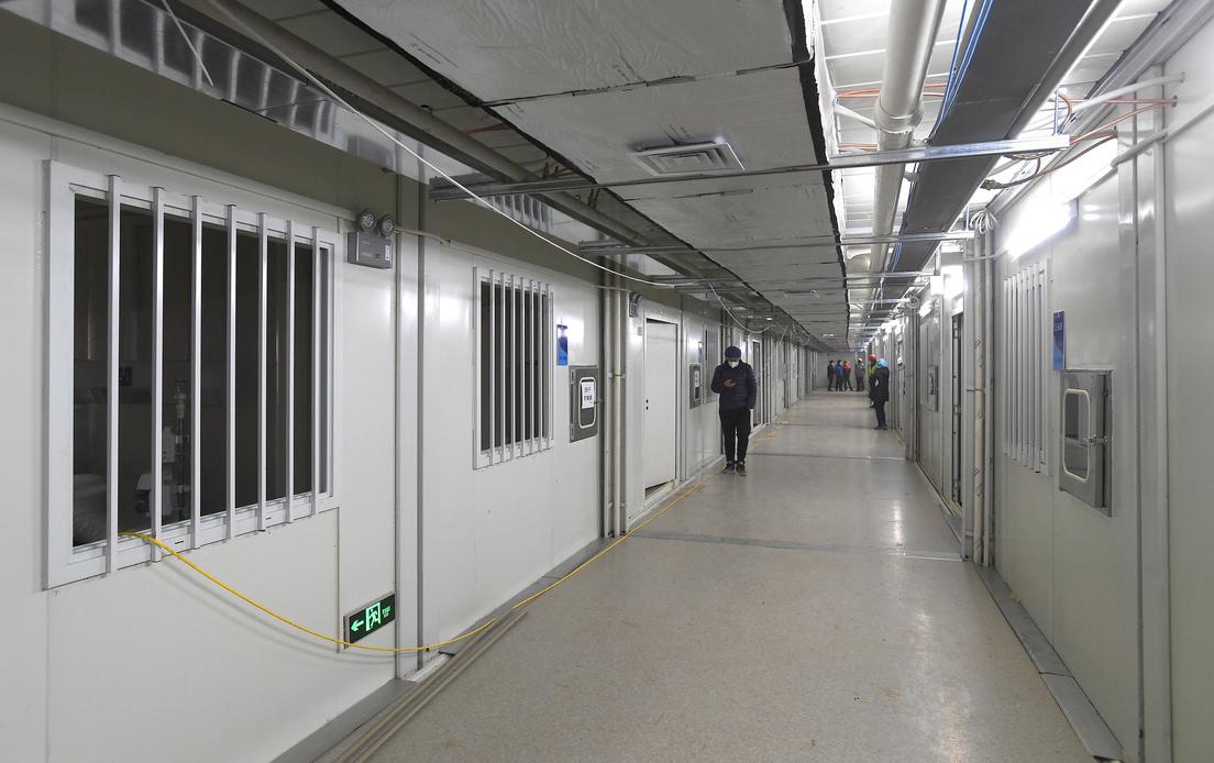 Se abre en China el primer hospital construido contrarreloj para tratar a pacientes con coronavirus