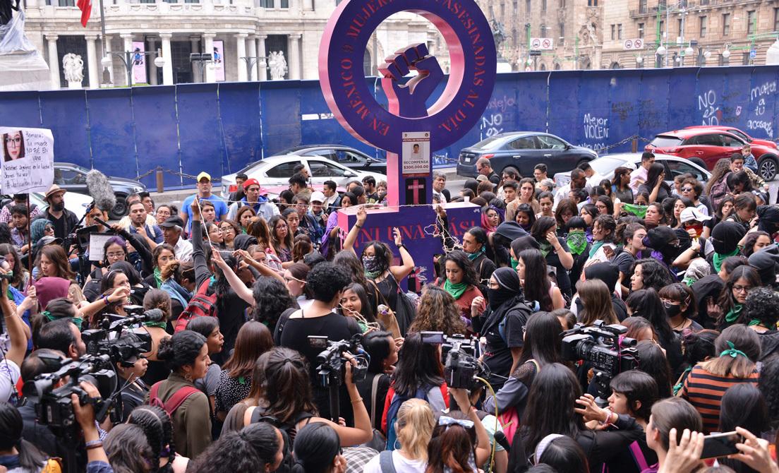 Convocan a paro nacional; #UnDíaSinMujeres el 9 de marzo