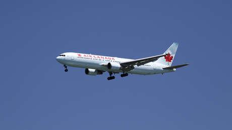 Alarma en Madrid por un avión de Air Canada que sobrevuela a baja altura por un fallo técnico