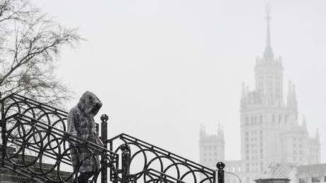 Cambio climático en Rusia: temperaturas de enero en Moscú exceden la norma en casi 10 grados