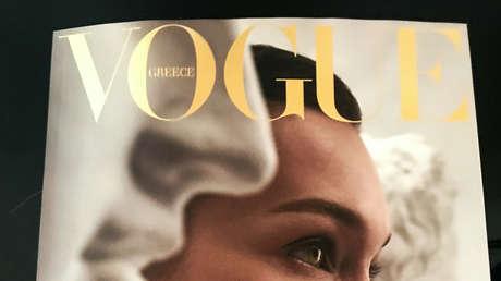 FOTO: Un retrato de Billie Eilish dibujado por una adolescente rusa se convierte en portada de Vogue