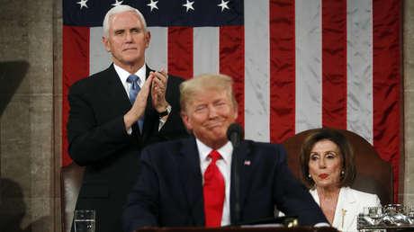 Guaidó, Soleimani y Oriente Medio: puntos clave del discurso de Trump en el Congreso