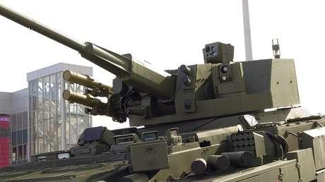 Rusia dotará a sus vehículos pesados de combate de un novedoso módulo contra tanques y aeronaves (VIDEO)