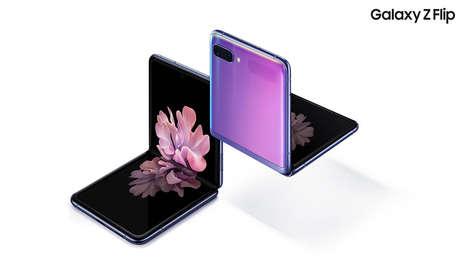 """Samsung presenta sus nuevos 'smartphones': el plegable Galaxy Z Flip y el S20, que """"cambiará la fotografía"""" (VIDEO)"""