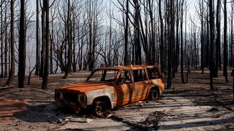 Un exjugador de rugby quema vivos a su exmujer y a sus tres hijos dentro de un coche y luego se suicida clavándose un cuchillo