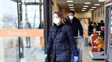 Ya son 6 los fallecidos en Italia por el coronavirus y el número de afectados asciende a 219