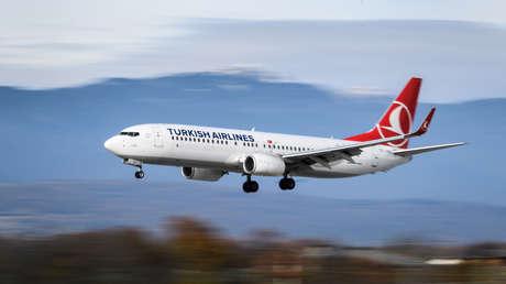 VIDEO: Desvían un vuelo de Turkish Airlines procedente de Irán por sospechas de que un pasajero tiene el coronavirus