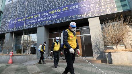 La secta donde se inició la propagación del coronavirus en Corea del Sur entrega al Gobierno los nombres de sus 210.000 adeptos
