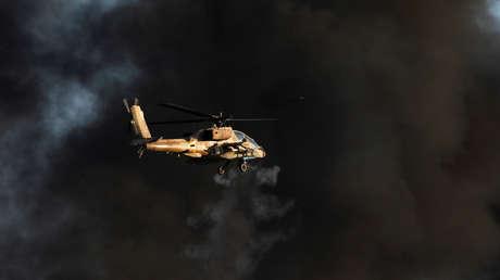 Helicópteros de Israel atacan posiciones del Ejército sirio