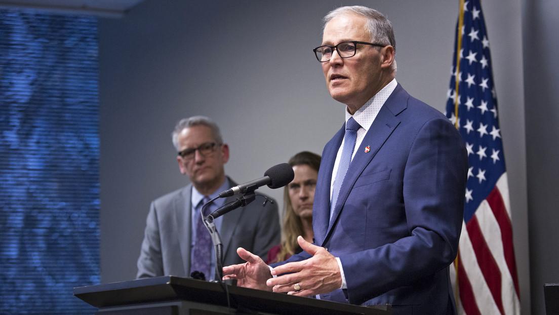 """El gobernador de Washington anuncia el """"estado de emergencia"""" en respuesta a los nuevos casos de coronavirus en EE.UU."""