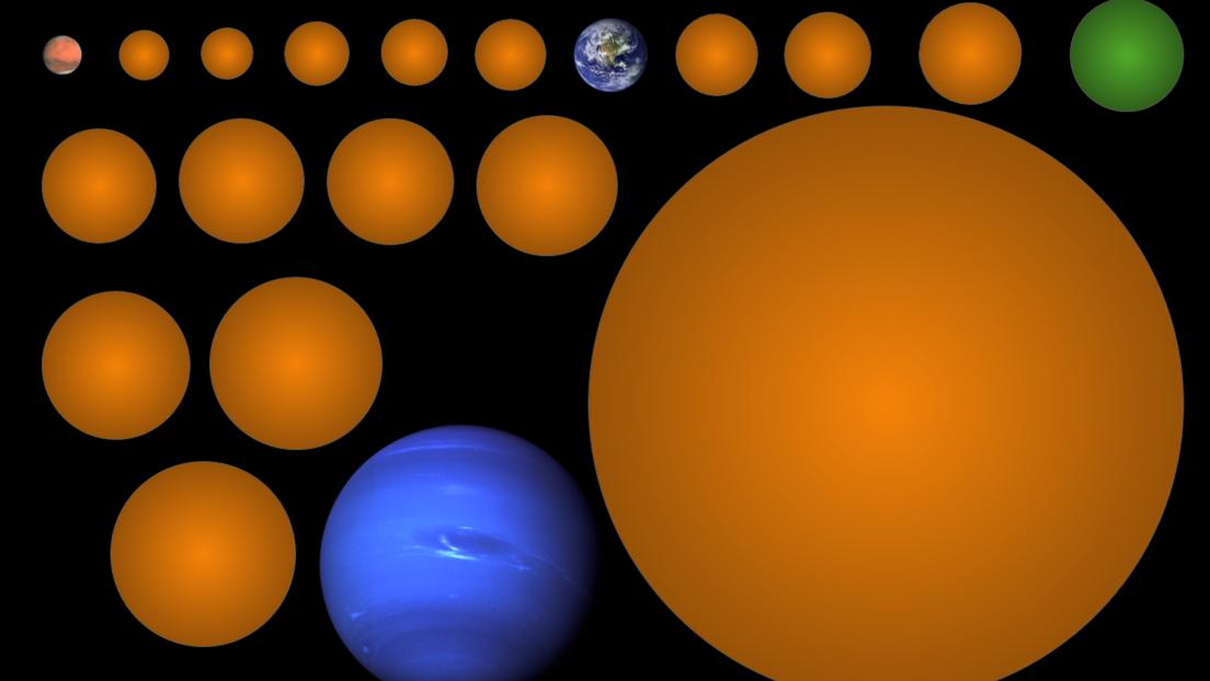 Una estudiante descubre 17 exoplanetas, uno de ellos de tamaño comparable al de la Tierra y en la zona habitable