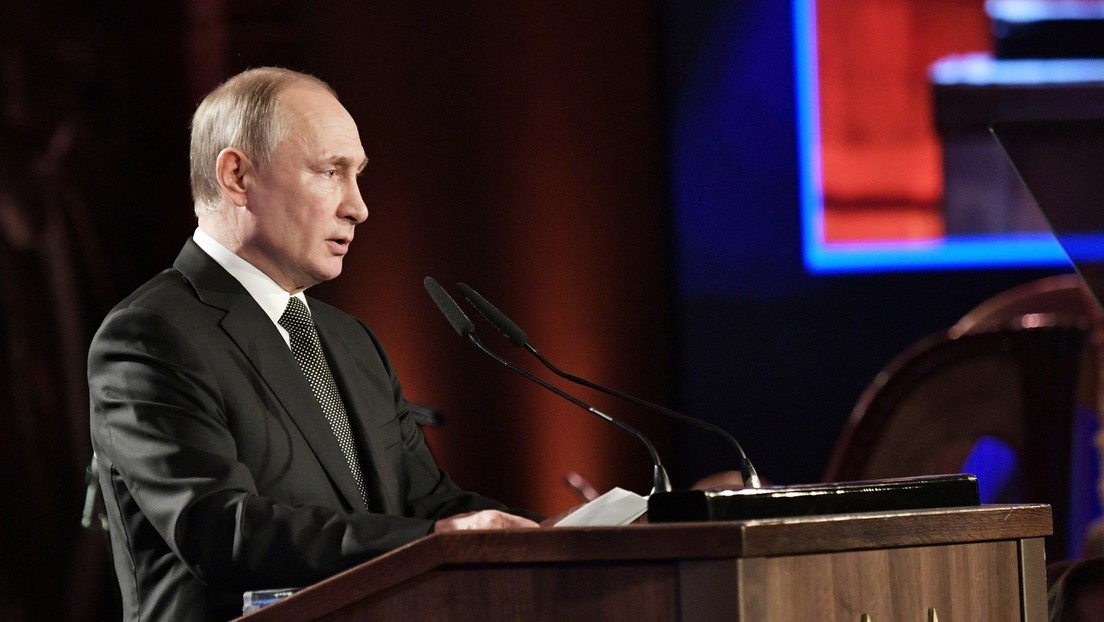 """Putin: """"El impacto negativo del coronavirus en la economía global ya afecta a casi todos los países del mundo"""""""