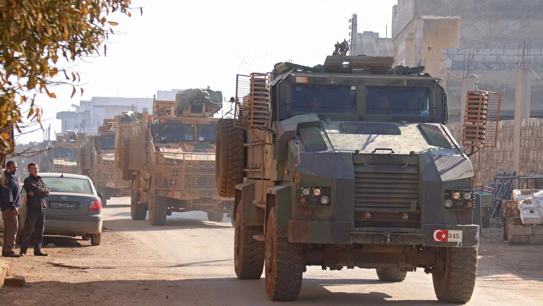 Turquía anuncia que realiza una operación militar en Idlib, mató a más de 2.000 soldados sirios y destruyó decenas de vehículos