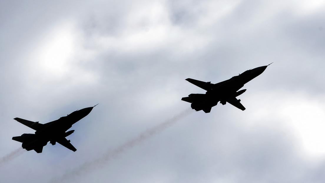 El Ministerio de Defensa de Turquía confirma el derribo de 2 bombarderos Su-24 sirios en Idlib