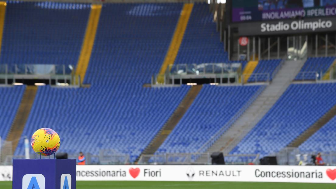 Posponen hasta mayo otro partido de la Serie A italiana por el coronavirus