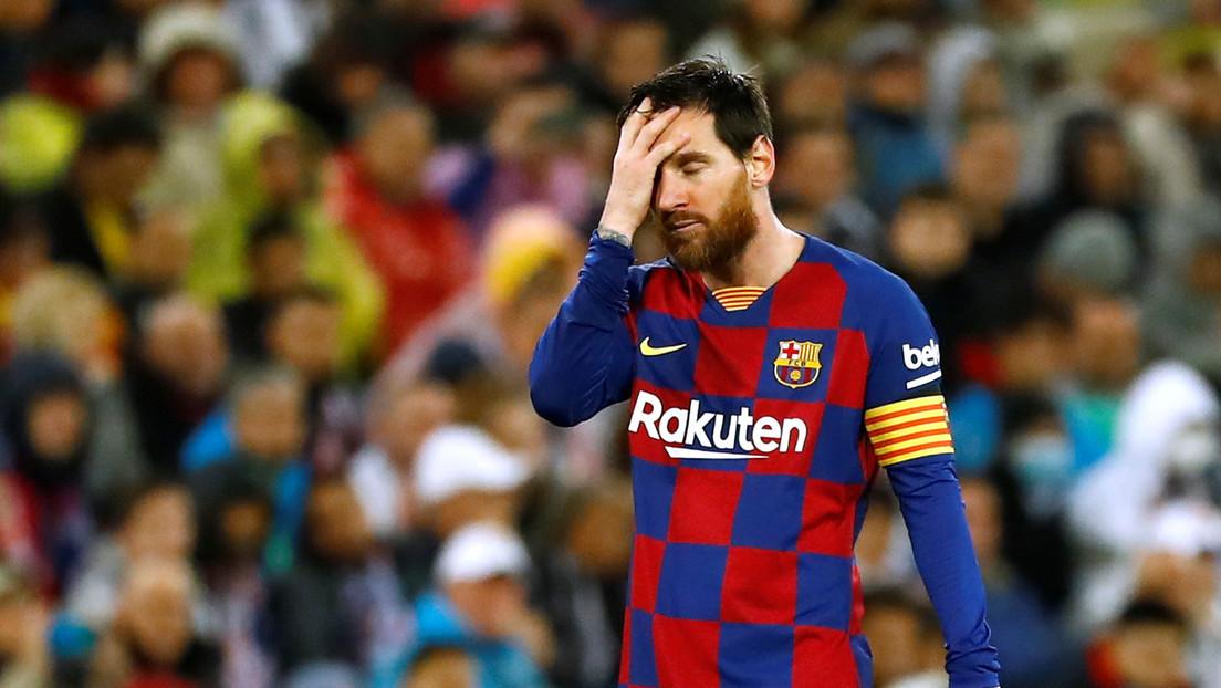 Desde España informan que Messi tomó una decisión sorpresiva con ...