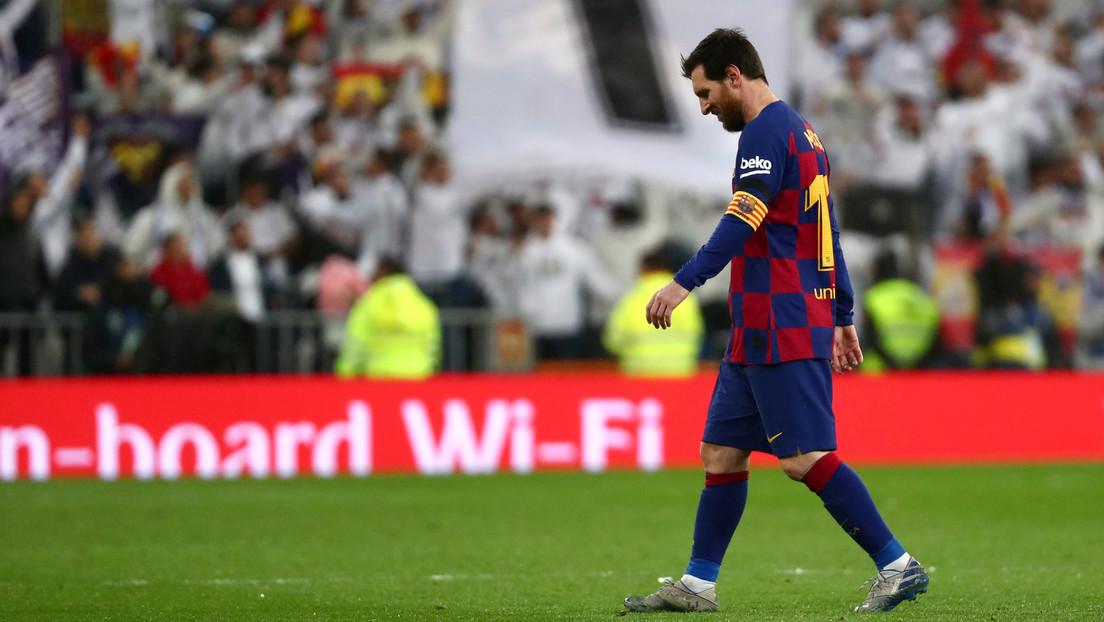 VIDEO: Imágenes de Messi antes del 'clásico' incitan rumores sobre por qué no brilló ante el Real Madrid