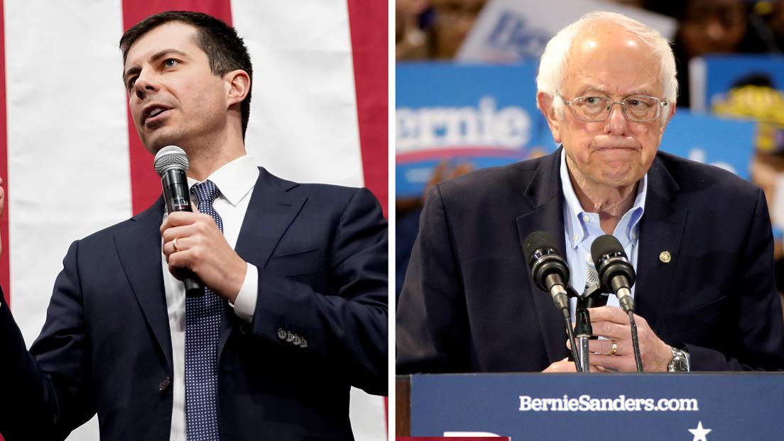 Trump afirma que Pete Buttigieg deja la carrera para impedir la nominación de Bernie Sanders